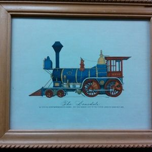 Curro Locomotive Concept Print The Locomotive No 9